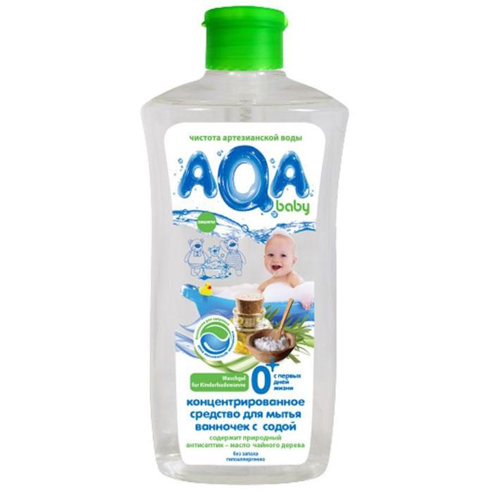 AQA baby Гель для мытья ванночек с содой, 500 мл. недорого