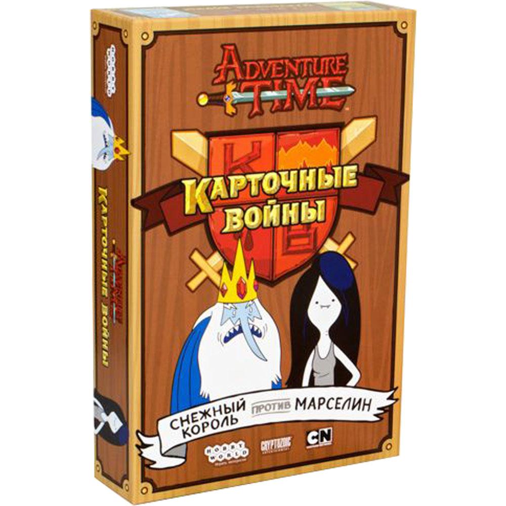 Настольная игра Hobby World Время приключений. Карточные войны: Снежный король против Марселин 915095