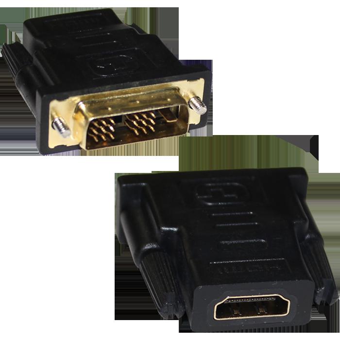 Фото - Переходник HDMI (f) -DVI (M) переходник display port m dvi f