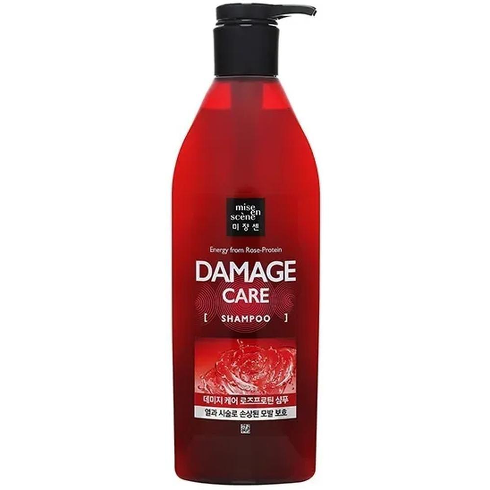 Mise en Scene Energy from Rose-Protein Damage Care Shampoo Шампунь для поврежденных волос, 680 мл.