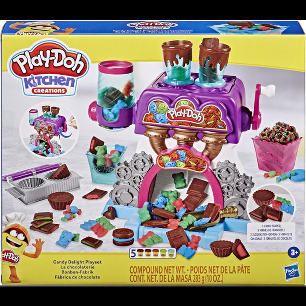 Игровой набор с пластилином Hasbro Play-Doh Конфетная фабрика E9844