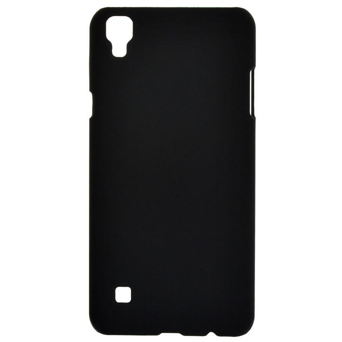 Чехол для LG X style K200 Skinbox 4People case, черный