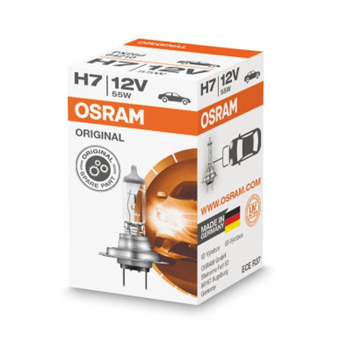 Автомобильная лампа H7 55W Standart 1 шт. OSRAM