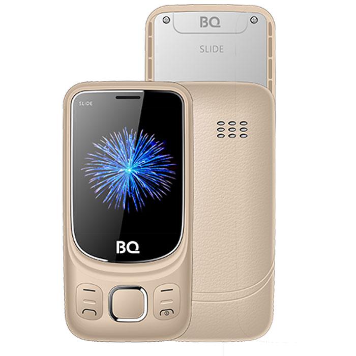 Мобильный телефон BQ Mobile BQ-2435 Slide Gold сотовый телефон bq 2435 slide black