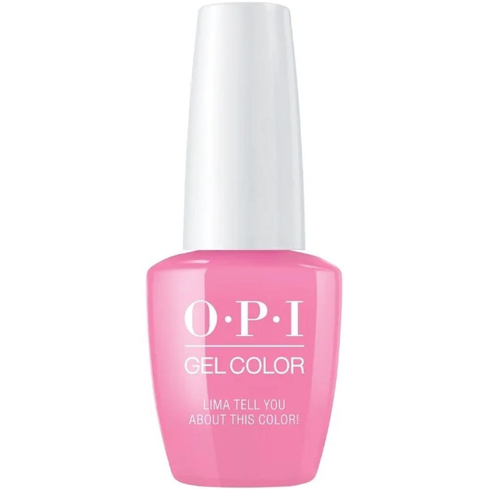 OPI Гель-лак для ногтей GelColor Peru Lima Tell You About This Color!, 15 мл. недорого