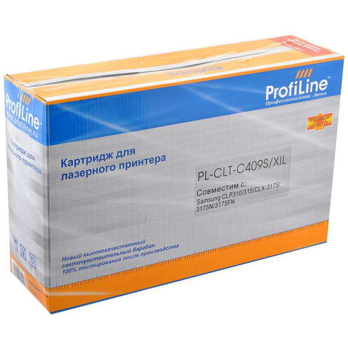Картридж ProfiLine PL- CLT-C409S Cyan для Samsung CLP-310/CLP-315/CLX3170/CLX3175 (1000стр)