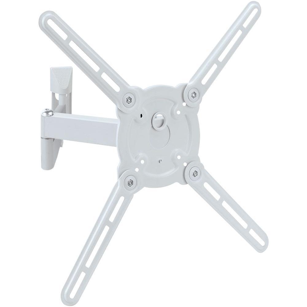 Кронштейн наклонно-поворотный Kromax ATLANTIS-15 22-65' до 40кг Vesa до 400x400 white