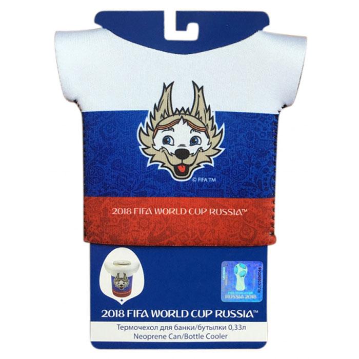 Термочехол для бутылки FIFA-2018 Термочехол-футболка для банки/бутылки 0,33л Т11608 велосипед fifa 2018 с мячом 12