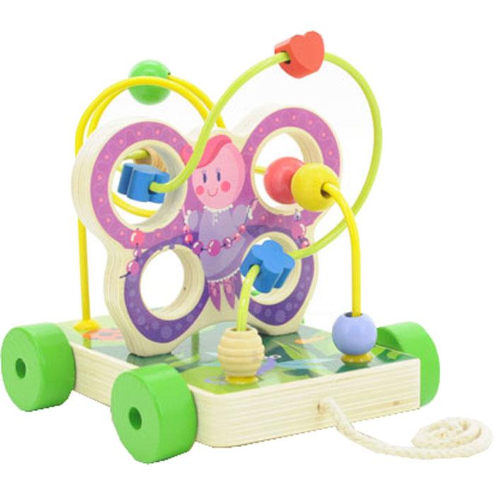 Мир деревянных игрушек Лабиринт Бабочка малая Д116 бизиборд мир деревянных игрушек