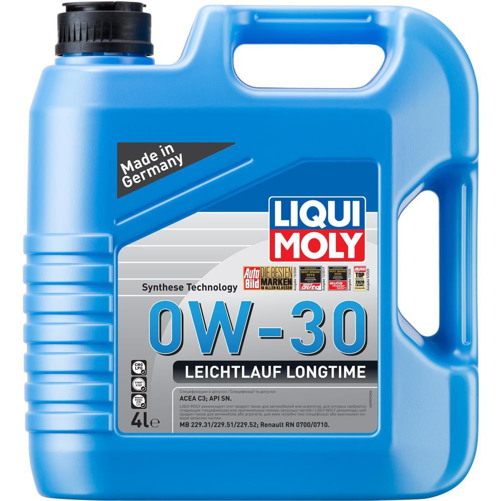 Фото - Масло моторное Liqui Moly Leichtlauf Longtime 0W-30 4л жидкость для омывателя стекла liqui moly kristallglas летняя 4л 35001