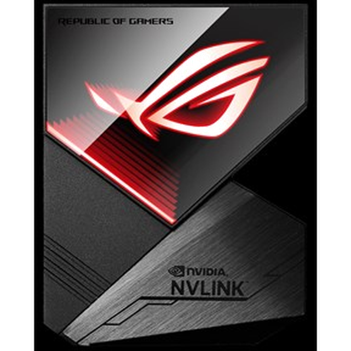 ASUS NVlink Bridge with Aura Sync RGB 4-slot