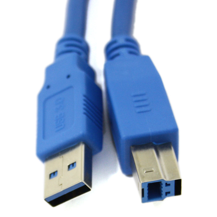 Фото - Кабель USB3.0 тип А(m)-В(m) 3,0м. а в золотов легковые автомобили