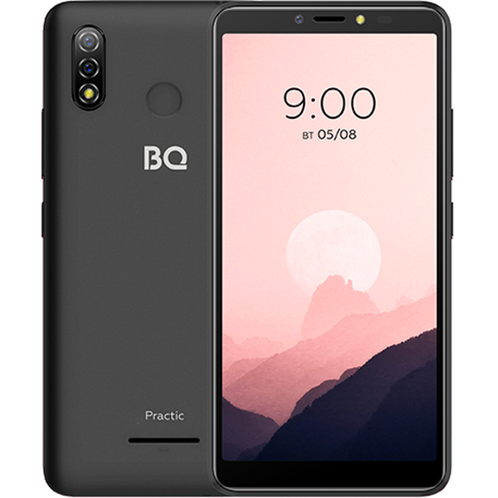 Смартфон BQ Mobile BQ-6030G Practic Black смартфон bq mobile bq 5514l strike power 4g silver