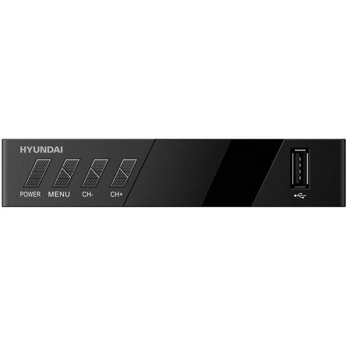 Фото - Ресивер Hyundai H-DVB420 черный DVB-T2 hyundai h led32fs5001 32 черный