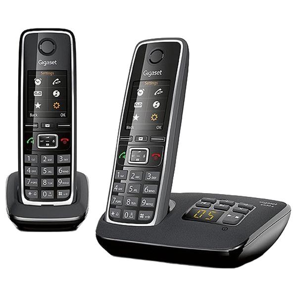 Радиотелефон Gigaset C530A Duo черный радиотелефон