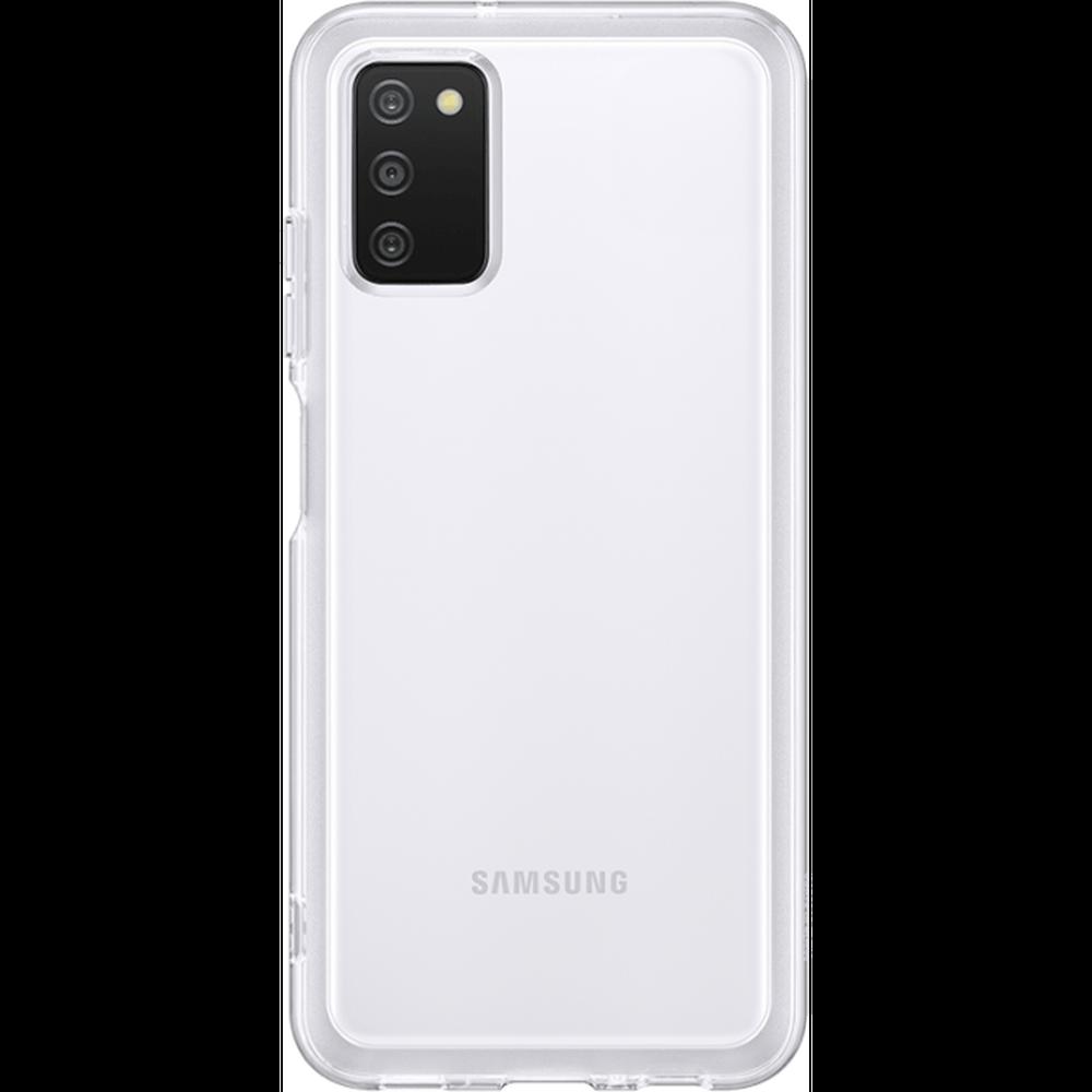 Фото - Чехол для Samsung Galaxy A03s SM-A037 Soft Clear Cover прозрачный чехол для samsung galaxy note 10 2019 sm n970 clear cover прозрачный