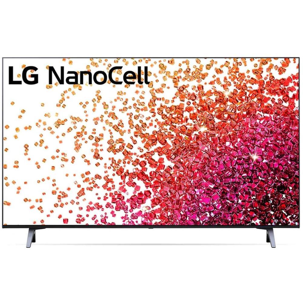 Фото - Телевизор 43 LG 43NANO756PA (4K UHD 3840x2160, Smart TV) черный телевизор lg 55nano776pa 55 nanocell ultra hd 4k