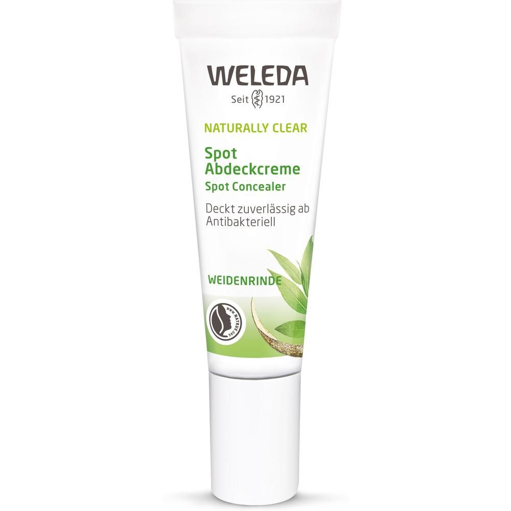 weleda naturally clear purifying gel cleanser Weleda Консилер Naturally Clear Spot Abdeckcreme, 10 мл.