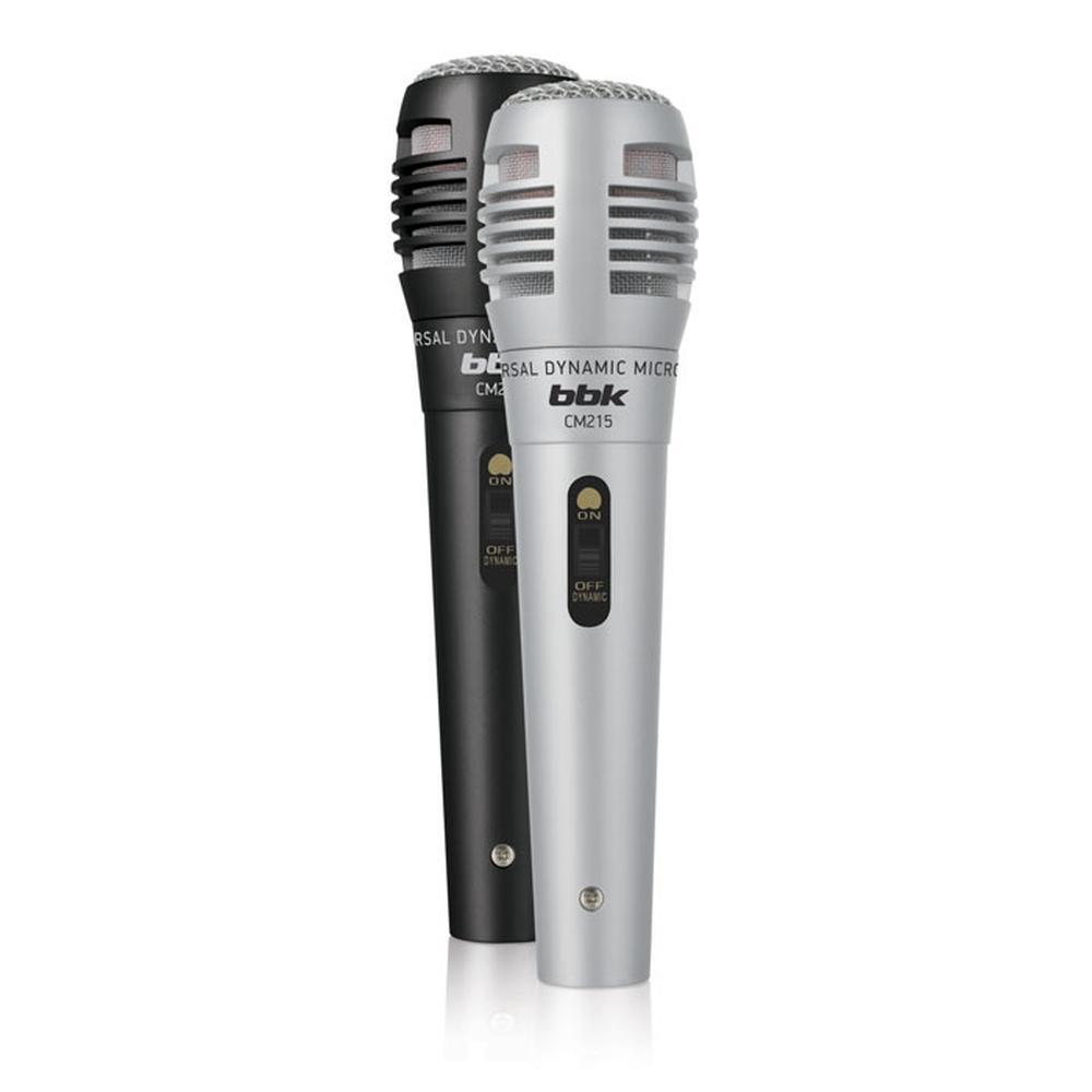 Фото - Микрофон BBK CM215 Black\Silver микрофон bbk cm215 черный шампань