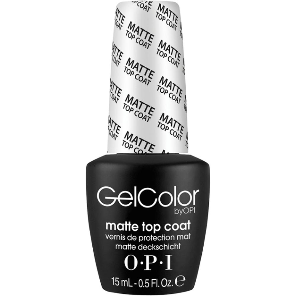 OPI Верхнее покрытие для ногтей GelColor Matte Top Coat, 15 мл. недорого
