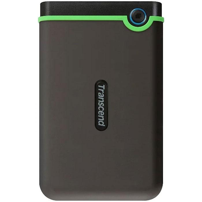 Фото - Внешний жесткий диск 2.5 500Gb Transcend TS500GSJ25M3S Slim USB3.0 5400rpm Серый жесткий диск
