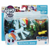 Hasbro My Little Pony B6008 Хранители Гармонии с артикуляцией Рейнбоу Деш