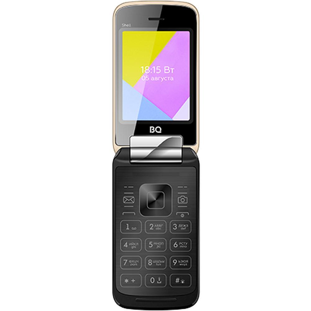 Мобильный телефон BQ Mobile BQ-2816 Shell Gold мобильный телефон bq 2814 shell duo gold