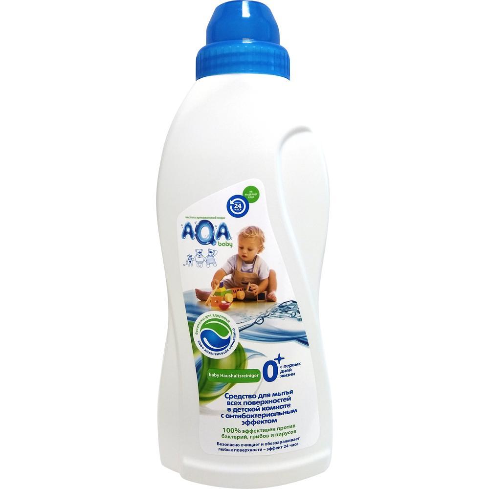 AQA baby Средство для мытья всех поверхностей в детской комнате, 700 мл. недорого
