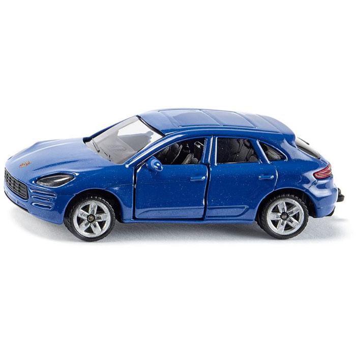 Siku модель машины Porsche Macan Turbo 1452 siku модель машины bmw 645i кабриолет 1007