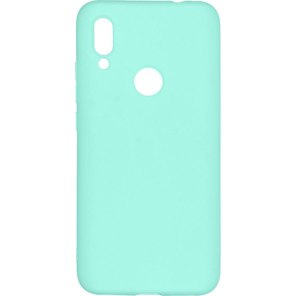 Фото - Чехол для Xiaomi Redmi 7 Pero софт-тач бирюзовый защитный чехол pero для xiaomi redmi 5 софт тач черный