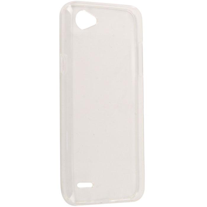 Чехол для LG Q6 Силиконовая накладка, прозрачная