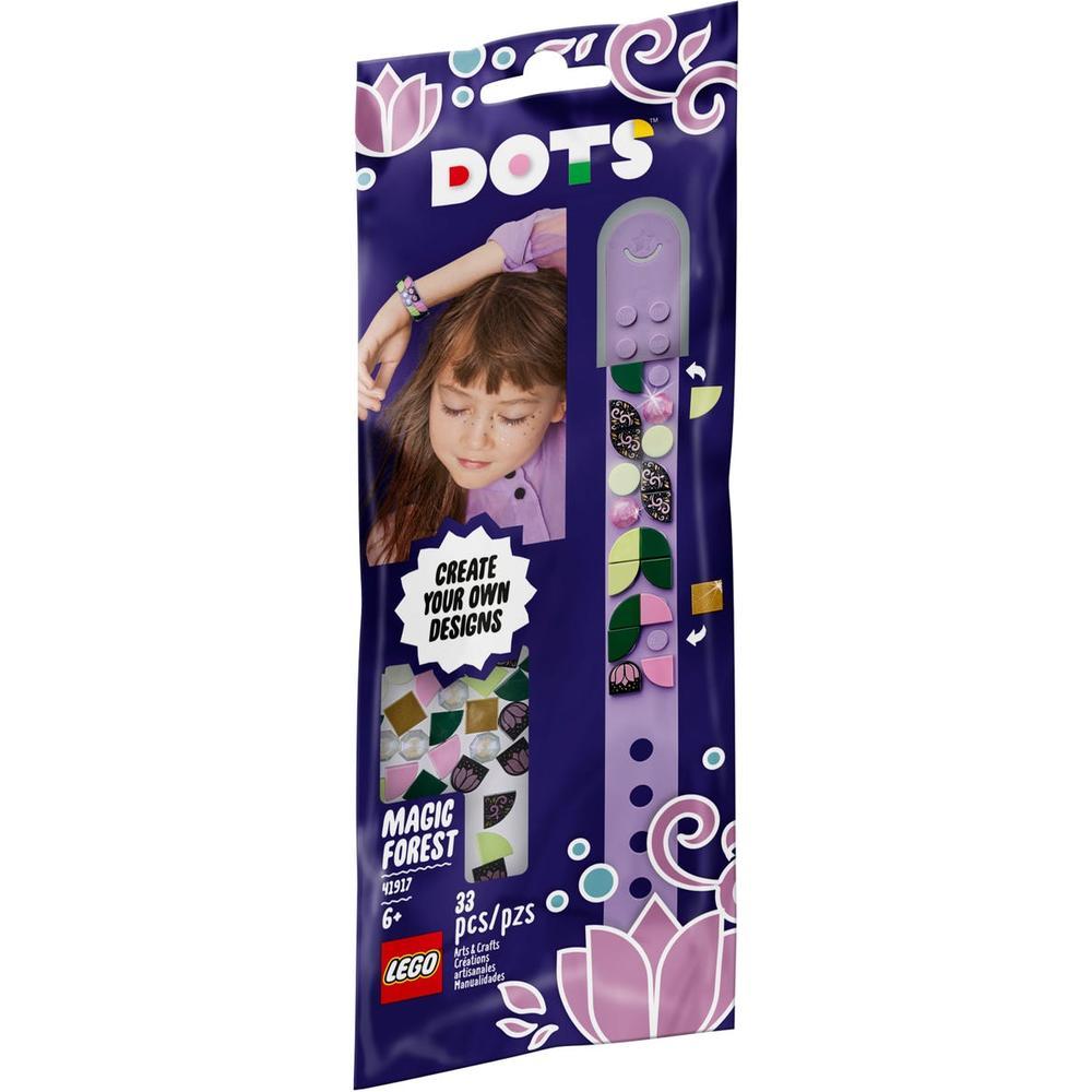 LEGO DOTs Браслет Волшебный лес 41917 lego dots 41900 лего дотс браслет радуга