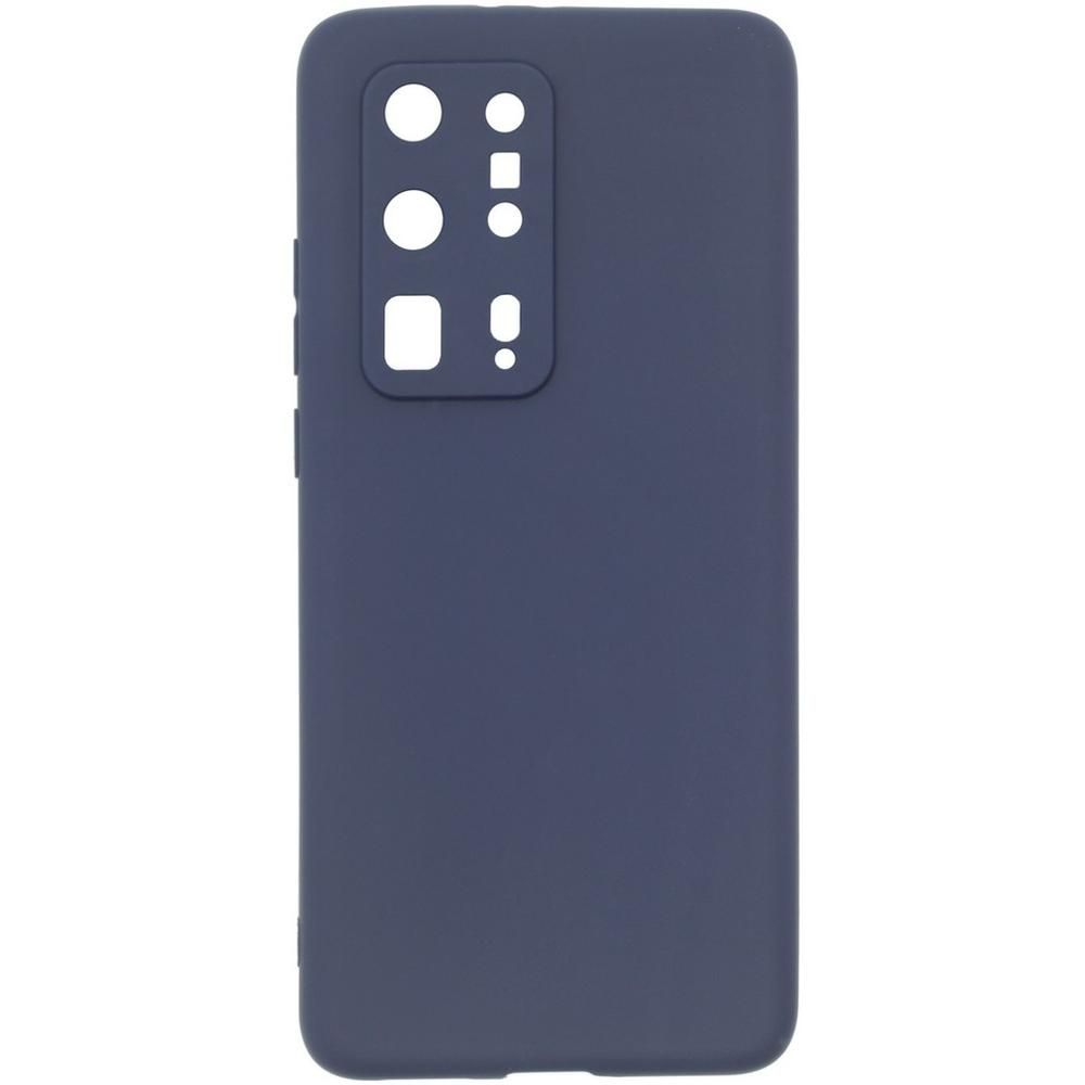 Чехол для Huawei P40 Pro Plus Zibelino Soft Matte синий