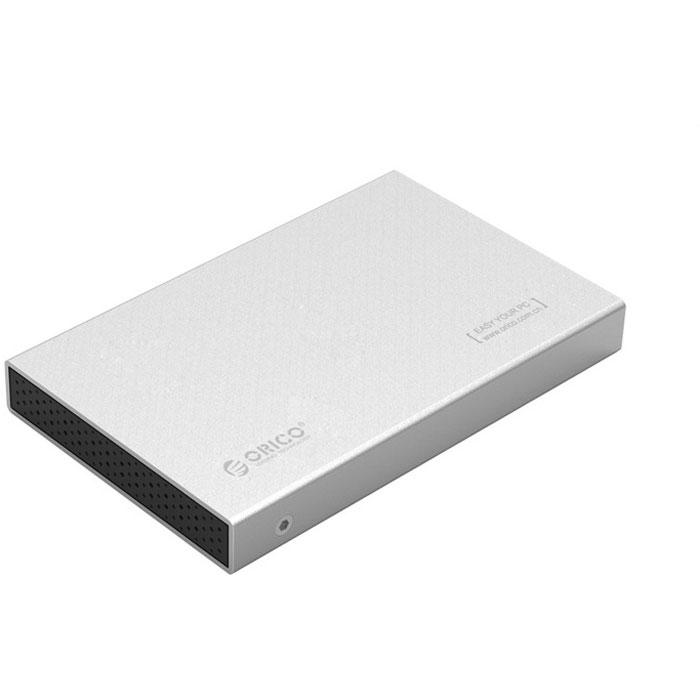 Фото - Корпус 2.5 Orico 2518S3 SATA, USB3.0 Silver orico 25uts sata to usb 3 0 2 5 inch hard drive adapter cable