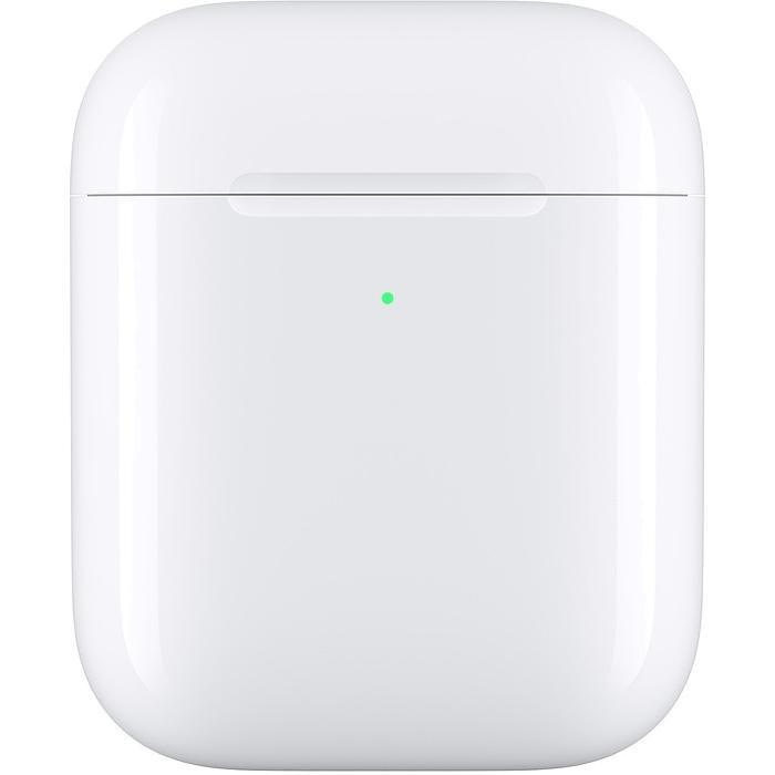 Кейс с возможностью беспроводной зарядки для Apple AirPods MR8U2RU/A адаптер беспроводной зарядки nillkin magic tags microusb 20330