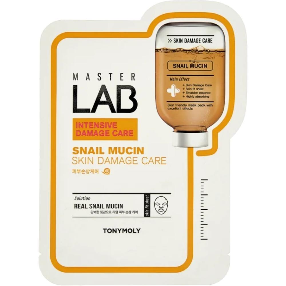 Фото - TONY MOLY тканевая маска Master Lab Snail Mucin, 19 г. tony moly тканевая маска master lab snail mucin 19 г
