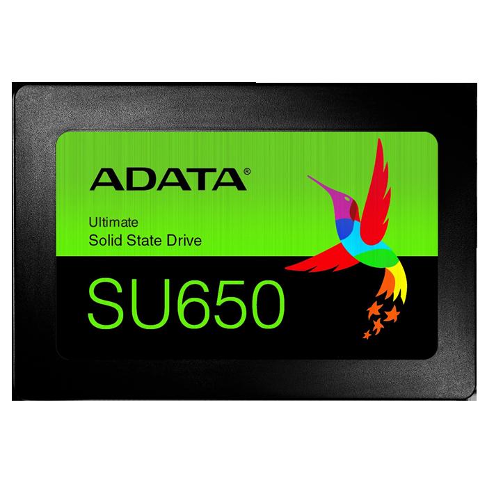 Внутренний SSD-накопитель 480Gb A-Data Ultimate SU650 ASU650SS-480GT-R SATA3 2.5