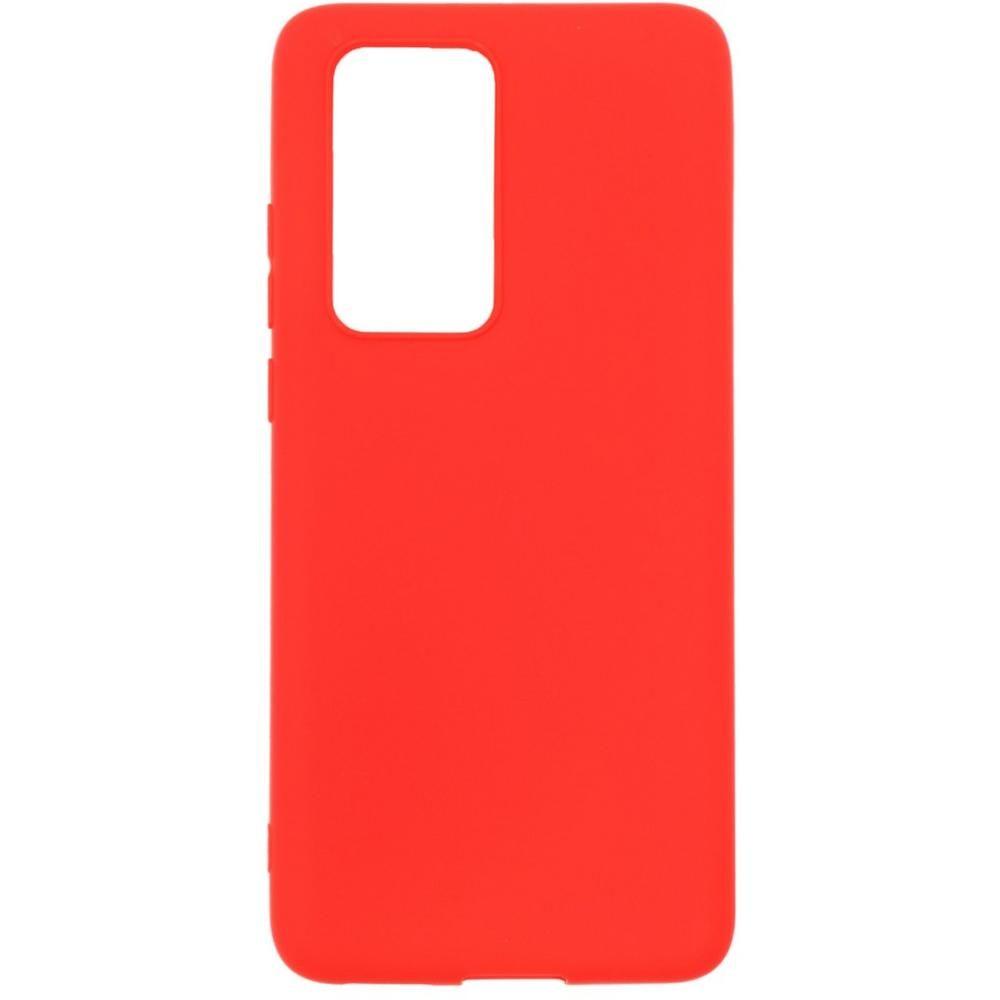 Чехол для Huawei P40 Pro Zibelino Soft Matte красный