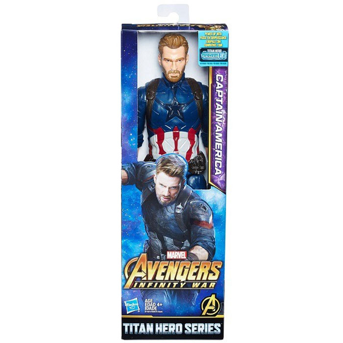 Фото - Avengers Hasbro Фигурка Мстители Титаны (Капитан Америка) E0570 avengers hasbro фигурка бенди мстители 15 см e7377 капитан америка