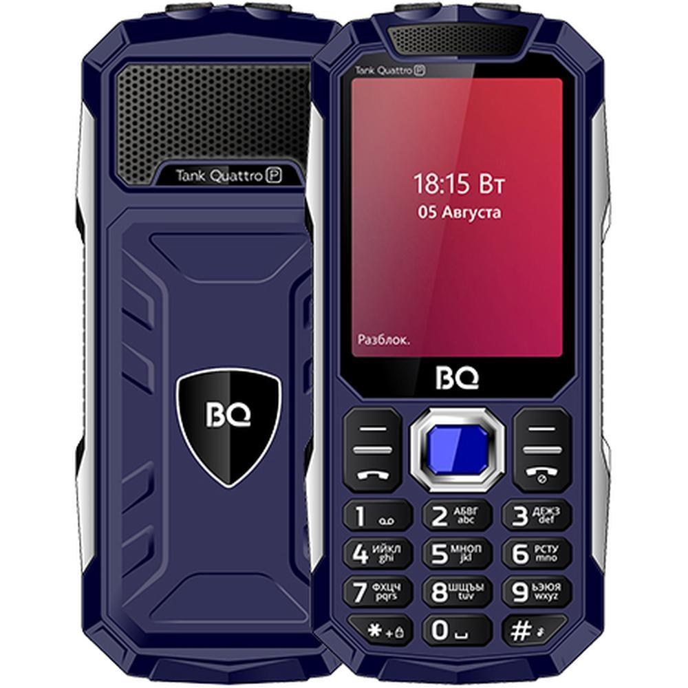 Мобильный телефон BQ Mobile BQ-2817 Tank Quattro Power Blue мобильный телефон bq mobile bq 2817 tank quattro power black