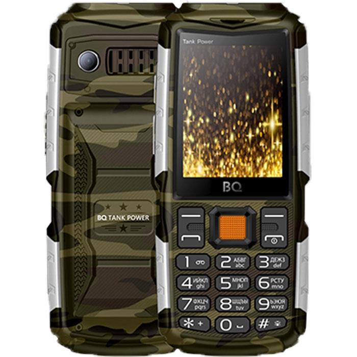 Мобильный телефон BQ Mobile BQ-2430 Tank Power Camouflage/Silver смартфон bq mobile bq 5514l strike power 4g silver