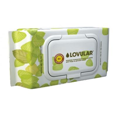 салфетки Влажные салфетки Lovular фито-салфетки, 80 шт