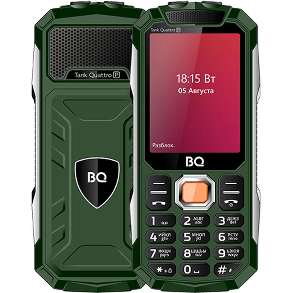 Мобильный телефон BQ Mobile BQ-2817 Tank Quattro Power Green мобильный телефон bq mobile bq 2817 tank quattro power black