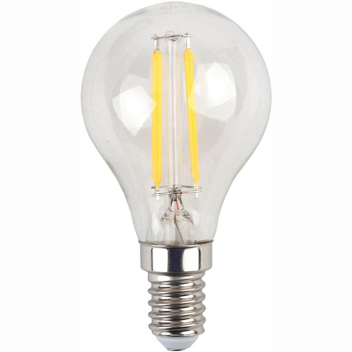 Фото - Светодиодная лампа ЭРА F-LED P45-7W-827-E14 Б0027946 эра б0027946 светодиодная лампа шарик f led p45 7w 827 e14