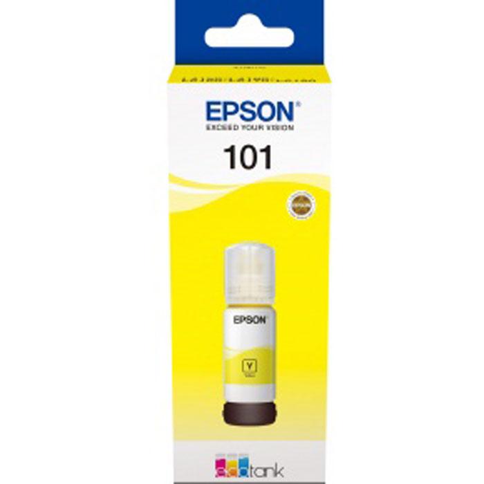 Фото - Чернила EPSON T03V44A Yellow для L4150/L4160/L6160/L6170/L6190 C13T03V44A мфу epson l6160