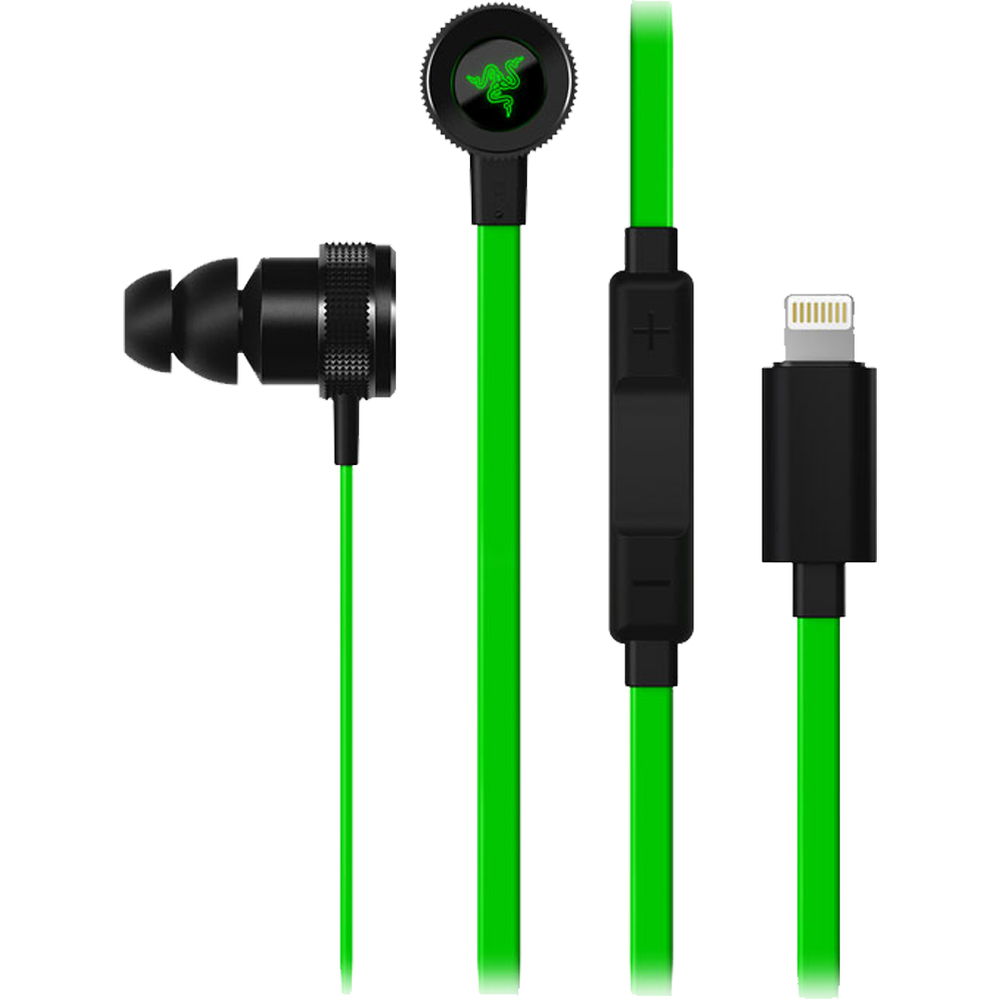 Гарнитура Razer Hammerhead for iOS Lightning