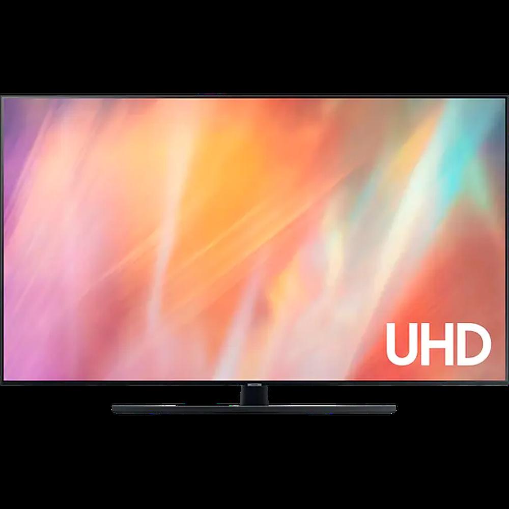 Фото - Телевизор 75 Samsung UE75AU7500U (4K UHD 3840x2160, Smart TV) серый 4k uhd телевизор samsung ue70au7100uxru