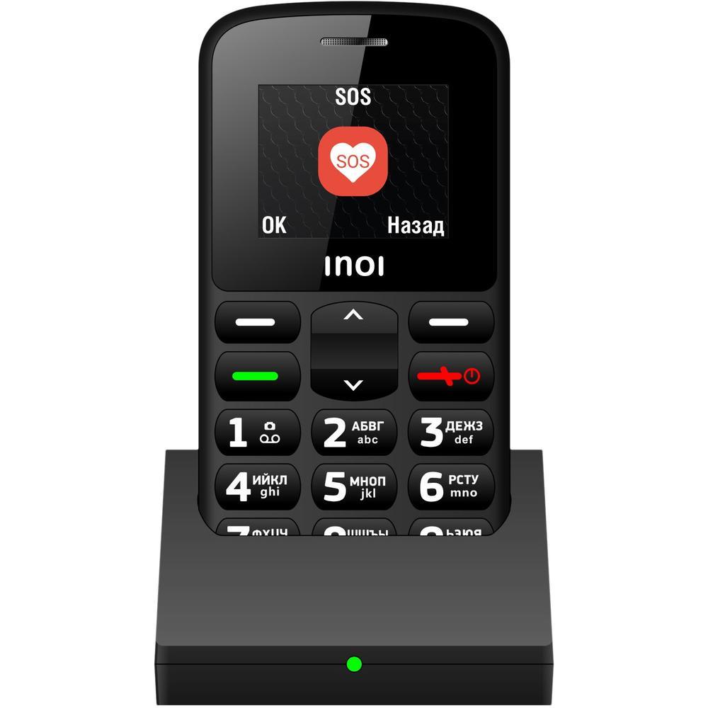Мобильный телефон Inoi 117B Black мобильный телефон inoi 103b 4660042757735 black
