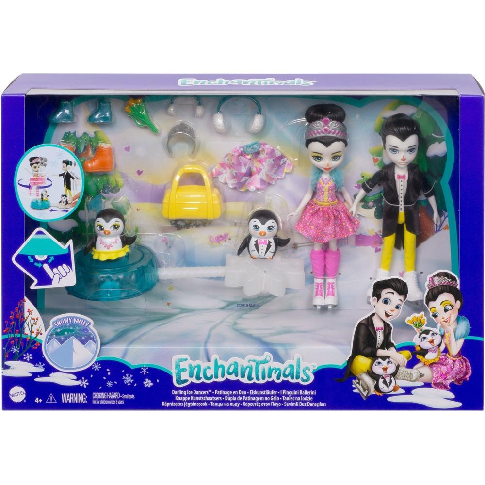 Enchantimals Mattel Набор Фигурное катание GJX49