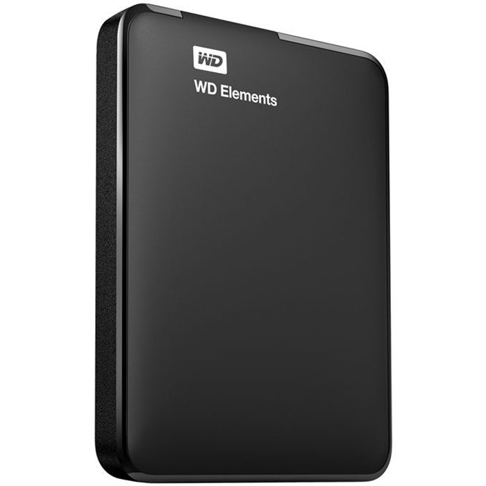 Внешний жесткий диск 2.5 1Tb WD Elements Portable WDBUZG0010BBK-WESN USB3.0 Черный жесткий диск wd original usb 3 0 10tb wdbwlg0100hbk eesn elements desktop 3 5 черный